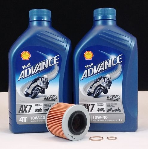 MZ 125 RT / SX / SM Service Kit Shell Advance AX7